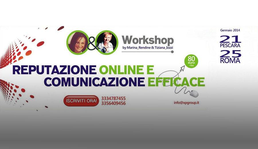 Corso Reputazione Online e Comunicazione Efficace