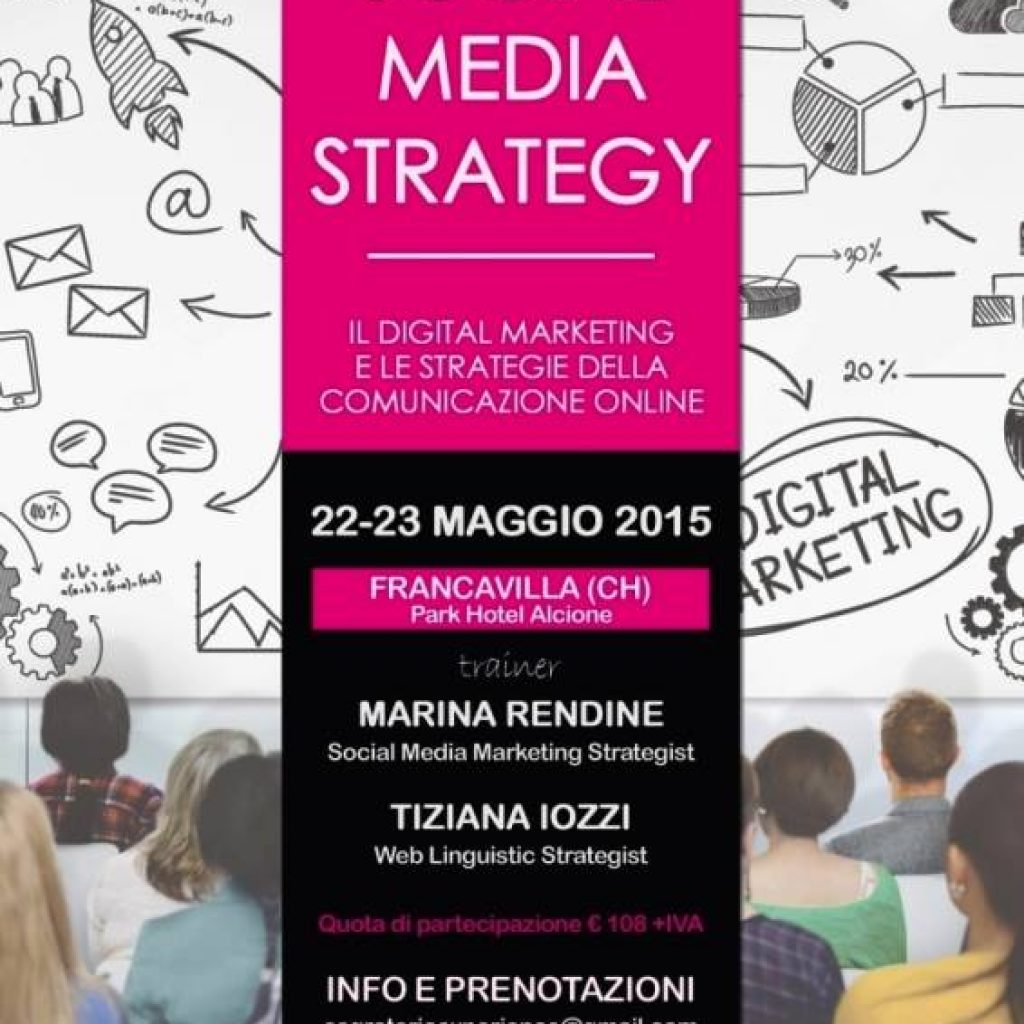 Social Media Strategy Francavilla CH 22 23 Maggio 2015