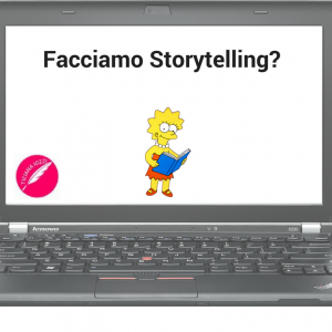 Lisa Simpsons storyteller