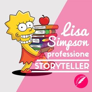 Lisa Simpson professione Storyteller articolo