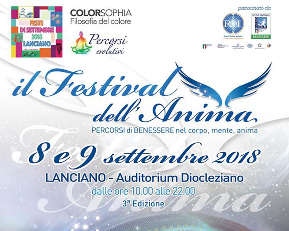 """Il seminario """"Anima Social"""" al Festival dell'Anima di Lanciano"""
