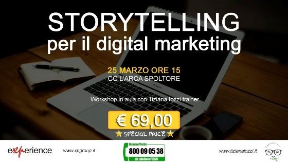 Corso Storytelling Pescara Marzo 2015