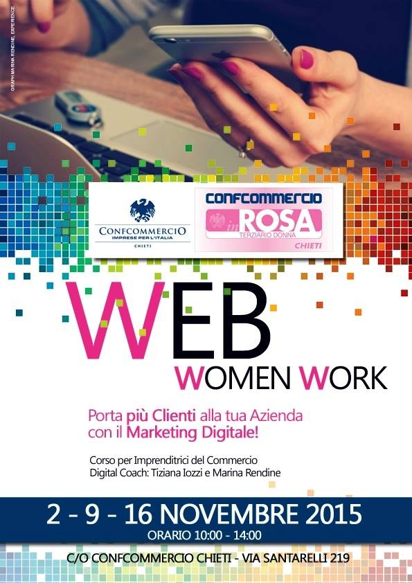 Web woman work