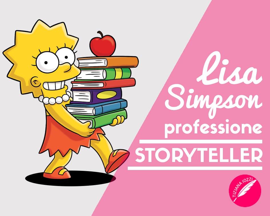 Tiziana-Iozzi_Lisa Simpson professione Storyteller