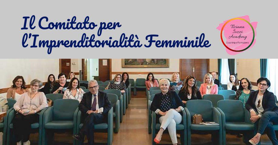 Contribuire con idee e progetti allo sviluppo della imprenditorialità femminile